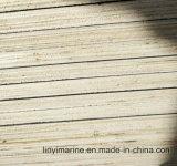 la película negra de 15m m hizo frente al pegamento de la madera contrachapada WBP
