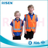 Chaleco reflexivo de la seguridad del camino del alto acoplamiento de la visibilidad para los niños
