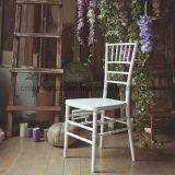Aprovisionamento de fábrica de resina plástica Cadeira Chivari Cadeira Tiffany Wedding