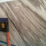 De flexibele Romantische Gouden Unieke Kunstmatige Marmeren Plak van de Binnenhuisarchitectuur voor de Tegel van de Vloer