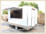 Ys-Fb350 3.5m Painel re-reforçado de fibra de vidro Fast Food Mobile Kitchen Trailer