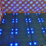 Azulejos de suelo ligeros solares impermeables del material de construcción de la alta calidad WPC
