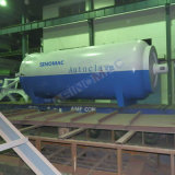 2650X5000mm ASME 승인되는 PVB 유리제 박판으로 만드는 오토클레이브 (SN-BGF2650)