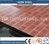Brick Imprimir Prepainted bobina de aço
