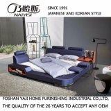Кровать горячего сбывания мягкая удобная кожаный (FB8040A)