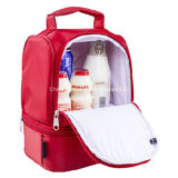 Refrigerador portátil de nylon de moda aislados almuerzo almuerzo bolsa de picnic