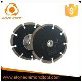 Het turbo Gesegmenteerde Blad van de Zaag van de Diamant Kleine voor Scherp Graniet