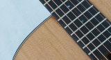 Guitarra acústica superior contínua de Dreadnaught com projeto atrativo