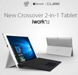 Originele Kubus I12 Iwork12 de vierling-Kern van de Sleep X5-Z8300 van de Kers van Intel van 12.2 Duim 4GB 64GB Vensters 10 & Androïde PC van de Tablet van 5.1 Dubbele OS