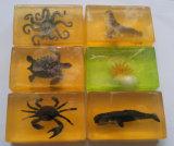 Natuurlijke Met de hand gemaakt bedt de Zeep van de Schoonheid van het Toilet van het Stuk speelgoed Aminimal voor het Baden van Kinderen in
