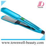 Raddrizzatore impermeabile professionale dei capelli del fornitore con i piatti larghi e la funzione di vibrazione