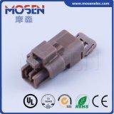 Fci 211PC022S7024B8049, DJ-1.5-21 Brown PBT 2 broches femelle auto électrique du faisceau de fils en plastique du connecteur de câble