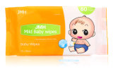 fabricante molhado do OEM dos Wipes do bebê 80PCS macio não tecido (BW010)
