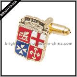 주문 승진 금속 접어젖힌 옷깃 Pin (BYH-101066)