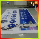 Impression de bandeau publicitaire, signe fait sur commande de drapeau, drapeau de vinyle, drapeau extérieur, drapeau de PVC (TJ- 24)