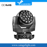 Roating 19X15W LED Bee Eyes Moving Head Zoom Wash Light