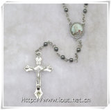 Paus Francis Rosary met Plastic Kleine Parels (iO-Cr384)