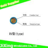 RV 4 Sqmm fil de base de cuivre isolés en PVC