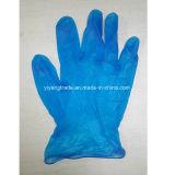 Les gants remplaçables de PVC d'examen/gants de vinyle avec la poudre et la poudre libèrent