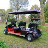 セリウムの証明は4 Seaterのゴルフコースのための電気ゴルフカートをカスタマイズした