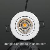 AC100-240V 9Wの調節可能な穂軸LEDはセリウムRoHSとつく