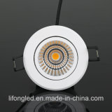 AC220V CRI90 9W Dali que amortigua la MAZORCA LED Downlight del sistema