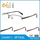 Blocco per grafici di titanio di vetro ottici del monocolo di Eyewear di alta qualità (8405)