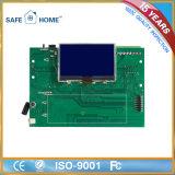 SMS тревожя аварийная система домашней обеспеченностью GSM экрана касания LCD