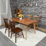 Bois solide Windsor de cendre de meubles de salle à manger dinant la présidence (C720-1)