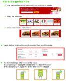 이동할 수 있는 APP 온라인 음식 납품을%s POS 인쇄 기계