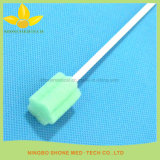 Palillo colorido médico disponible de la esponja de la limpieza