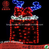 LED IP44 Tinsel Santa Claus Sunk in Chimney Christmas Light for Eves Décoration