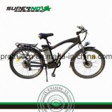 Bicicleta Elétrica com Guarda-lamas de plástico para homens da cidade