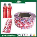 Etiqueta da câmara de ar do Shrink do PVC para o frasco com impressão de cor 9