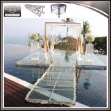 Fase di alluminio del plexiglass del blocco per grafici per gli eventi ed i progetti della piscina