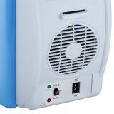 Портативный холодильник перемещения холодильника автомобиля грелки замораживателя охладителя 12V 7.5L