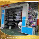 Sechs Farben-flexographische Hochgeschwindigkeitsdruckmaschinen