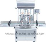 4 Kopf-Flüssigkeit/Pasten-Füllmaschine + Duckbill mit einer Kappe bedeckende Maschine