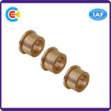 Luva/parafuso de cobre principais lisos Wear-Resistant de Ronud do prendedor não padronizado para o motor