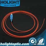 Sc óptico SM 0.9m m de la coleta de fibra