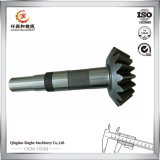 Fábrica de la pieza de maquinaria de construcción de las piezas de metal del bastidor de arena