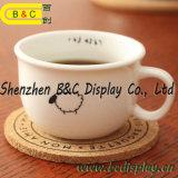 茶コルクのコースター、表のコルクのコースター、ボール紙のコースター、SGS (B&C-G113)とのPlacemat