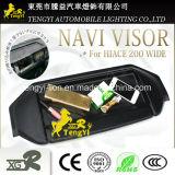Sonnenschutz für Auto-Nautiker für Anblick GPS-Navigation Toyota-Hiace Navi