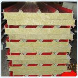 China Colorful Steel Sheet Mineral Wool Sandwich Panel