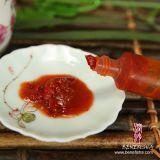 Polvere di peperoncino rosso rossa asciutta di Tassya