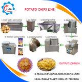 50/100 / 200kg / H Linha de produção semi-automática de chips de batata para venda