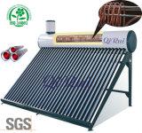 La presión del tubo de cristal calentador solar de agua con la aprobación del CE