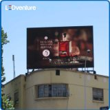 Publicidade ao ar livre de parede de vídeo LED