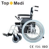 Equipamentos de reabilitação de alta resistência cadeira de rodas eletrônica desabilitada de alumínio