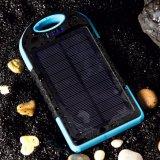 Batería 12000mAh de la potencia del panel solar para el iPhone de Xiaomi